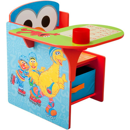 Sesame Street Elmo Toddler Desk Chair with Storage