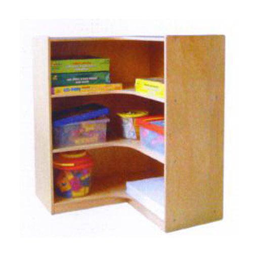 A+ Childsupply 3 Shelf Corner Bookcase