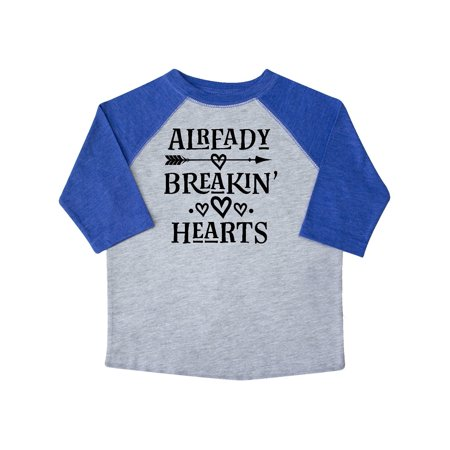 Boys Valentines Day Breaking Hearts Toddler T-Shirt