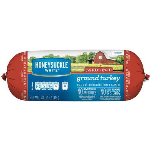 Honeysuckle White 85% Lean Ground Turkey, 3 lbs