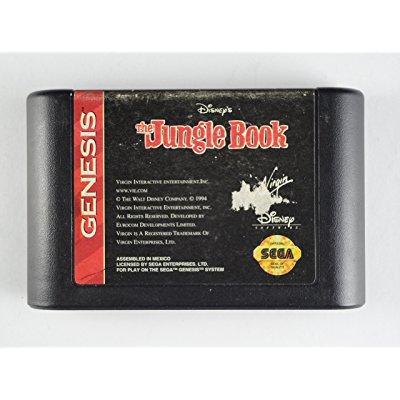 Jungle Book Sega Genesis by