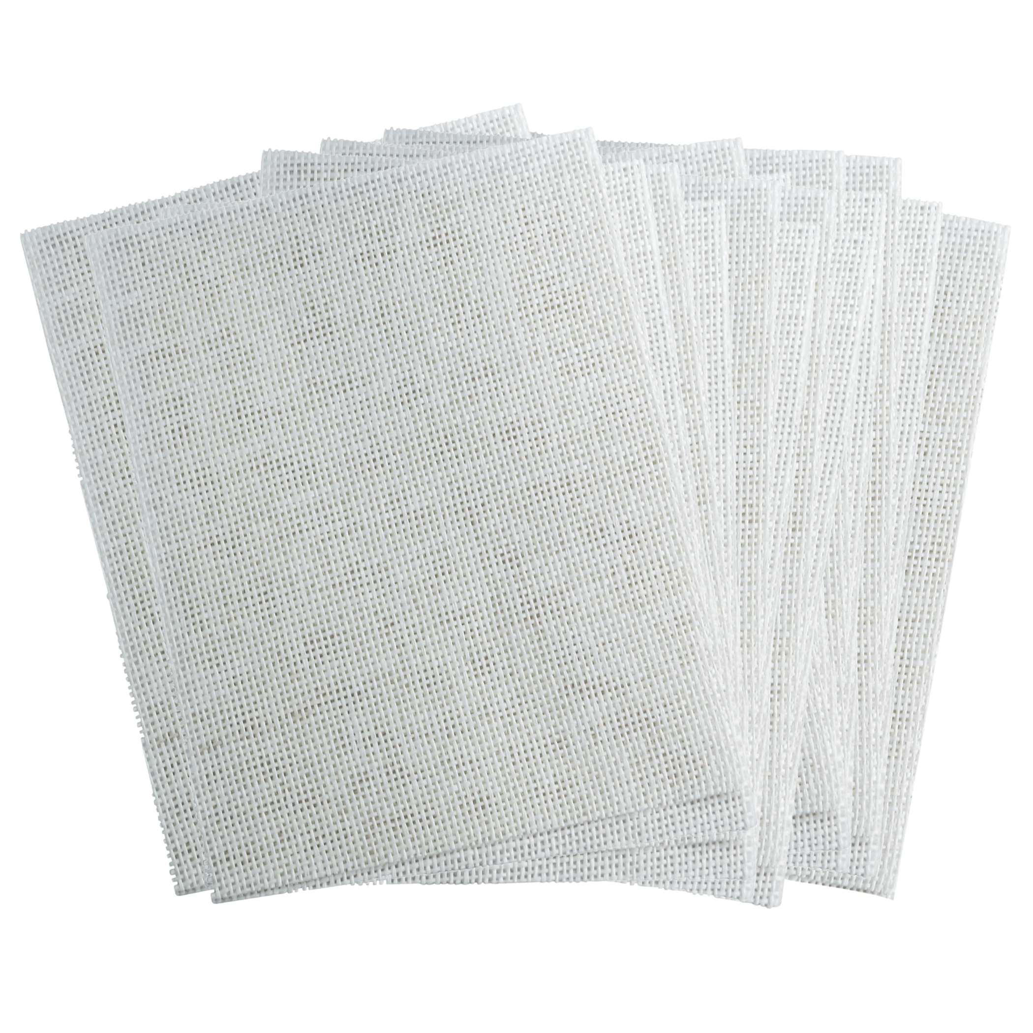 "Roylco® Paper Mesh, 7"" x 10"", White - 24 Sheets per pack, Set of 3 packs"