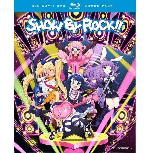 Show By Rock!!: The Complete Series (Blu-ray + DVD) (Widescreen)