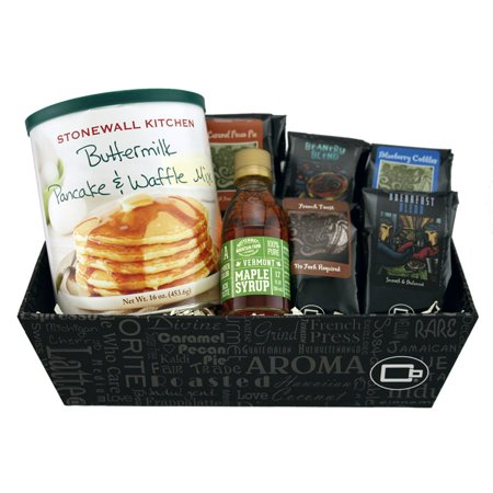 Breakfast in Bed Coffee Gift Basket - Halloween Gift Baskets To Make