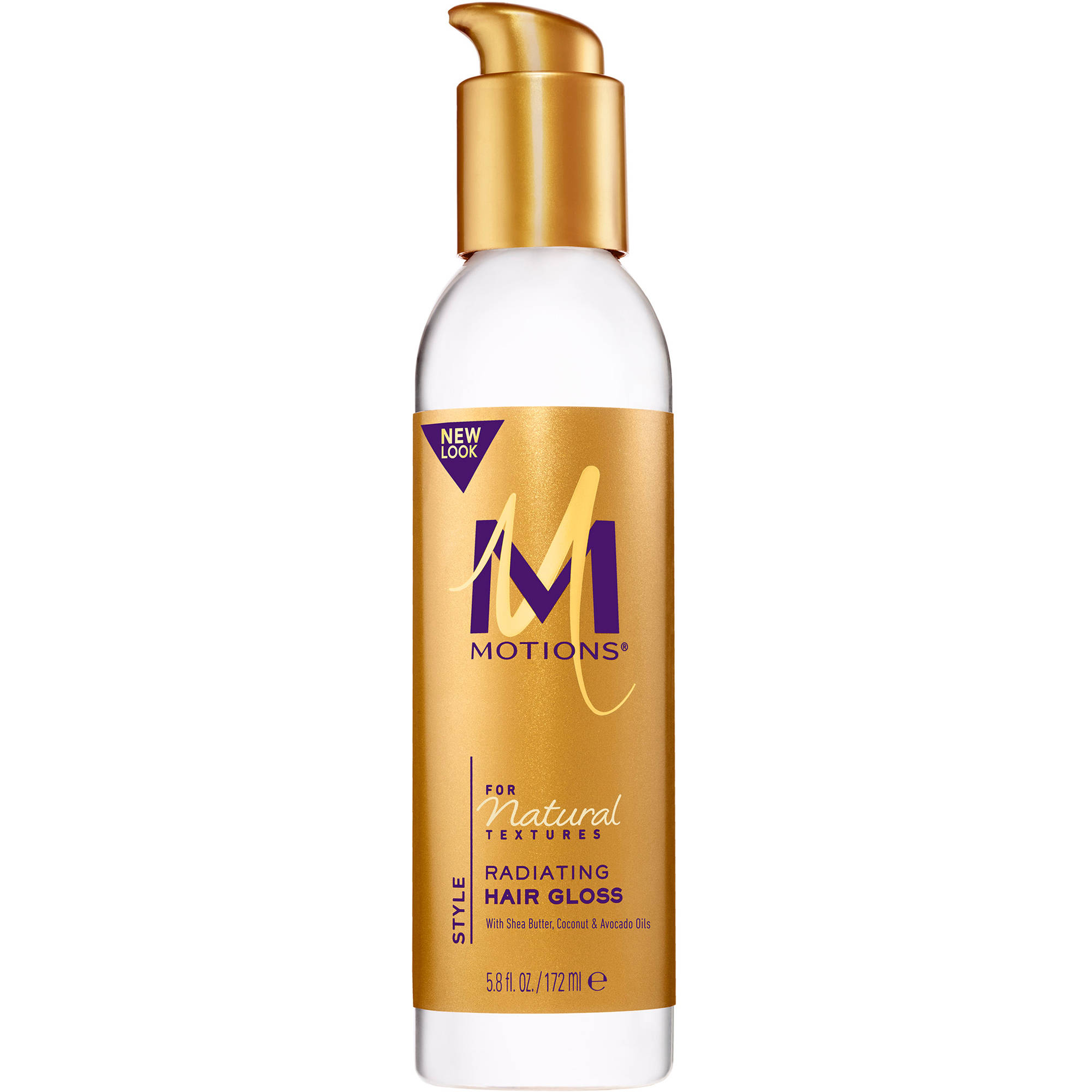 Motions Natural Textures With Shea Butter, Coconut and Avocado Oils Radiating Hair Gloss, 6 fl oz