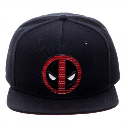 Baseball Cap - Marvel Deadpool Chrome Weld Snapback New Licensed sb3xv4mvu