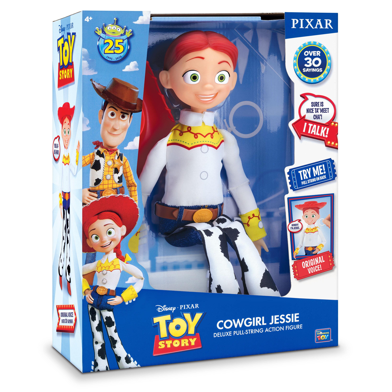 Toy Story 4 JESSIE TALKING ACTION FIGURE Cowgirl Disney Pixar Original Voice!