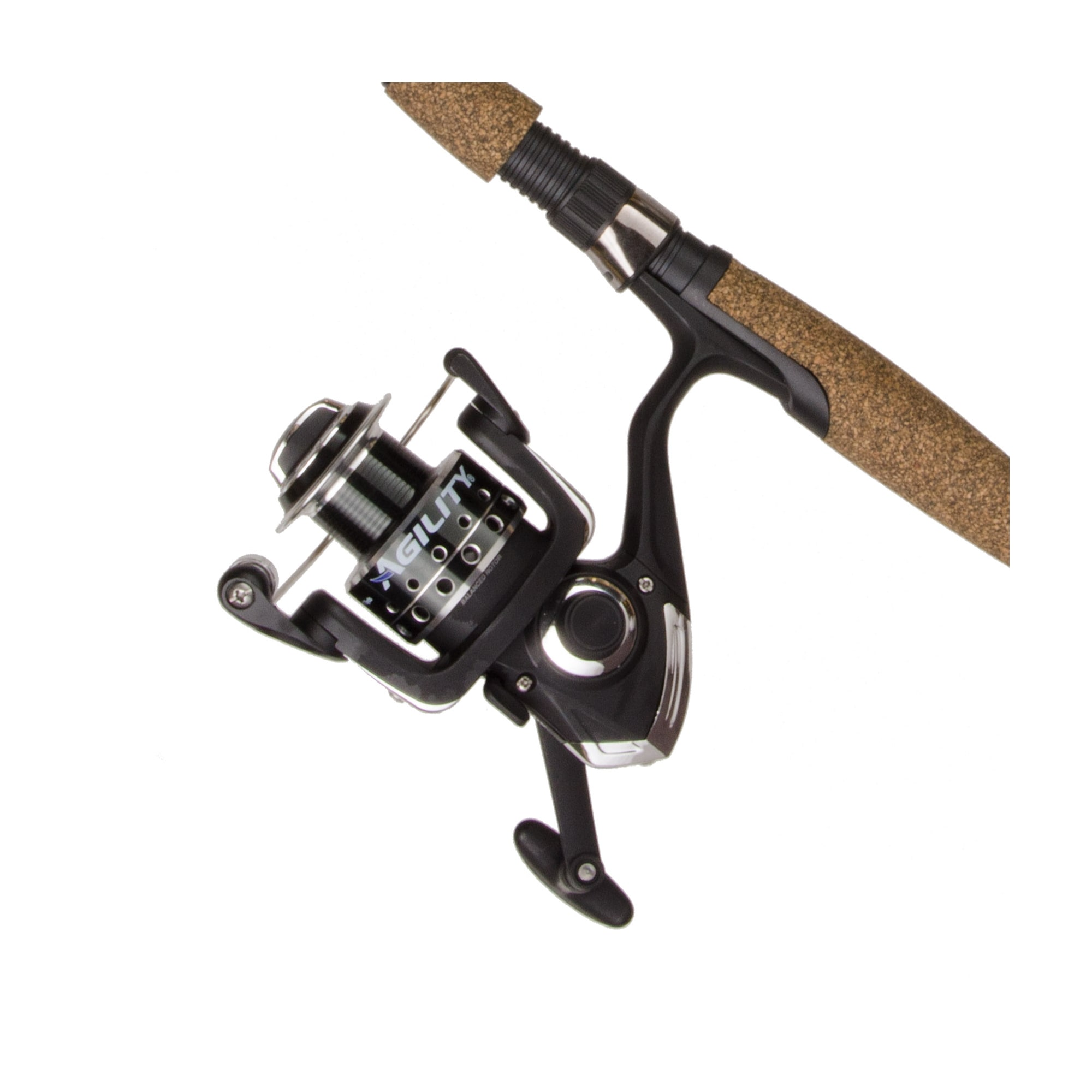 Shakespeare Agility Low Profile Baitcast Reel and Fishing Rod Combo by Shakespeare