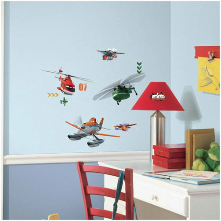 (Planes Fire and Rescue Peel and Stick Wall Decals)