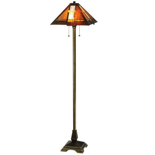 "Meyda Tiffany 118710 61"" H Montana Mission Floor Lamp by Meyda Tiffany"