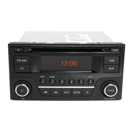 2015-2016 Nissan Sentra Versa AM FM Radio Single Disc CD Player Part 28185 9MC1A - Refurbished