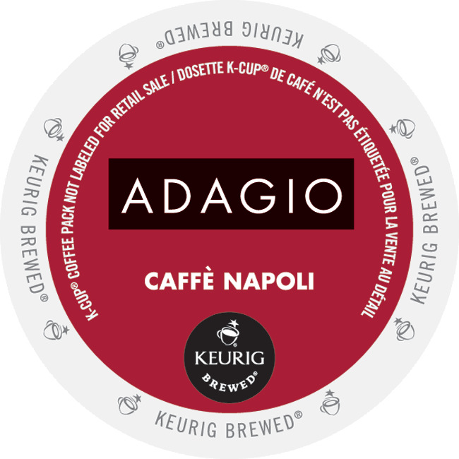 Image of Adagio Napoli Dark, K-Cup Portion Pack for Keurig Brewers