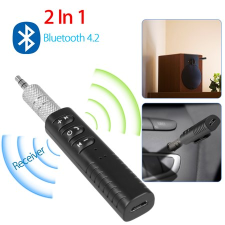 Bluetooth 4.2 Mini AUX 3.5mm Wireless Music Receiver Streaming Audio Adapter
