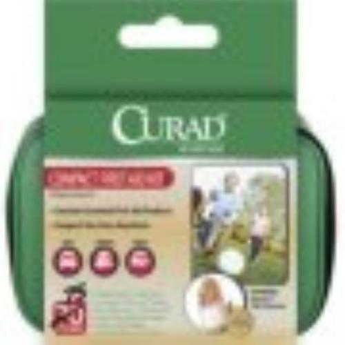 Curad Compact First Aid Kit 1 Each (Pack of 2)