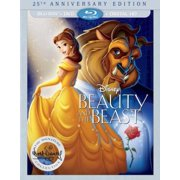 Beauty And The Beast 25th Anniversary Edition (Blu-ray + DVD + Digital HD) by
