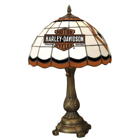 Harley davidson stained glass tiffany table lamp walmart harley davidson stained glass tiffany table lamp audiocablefo