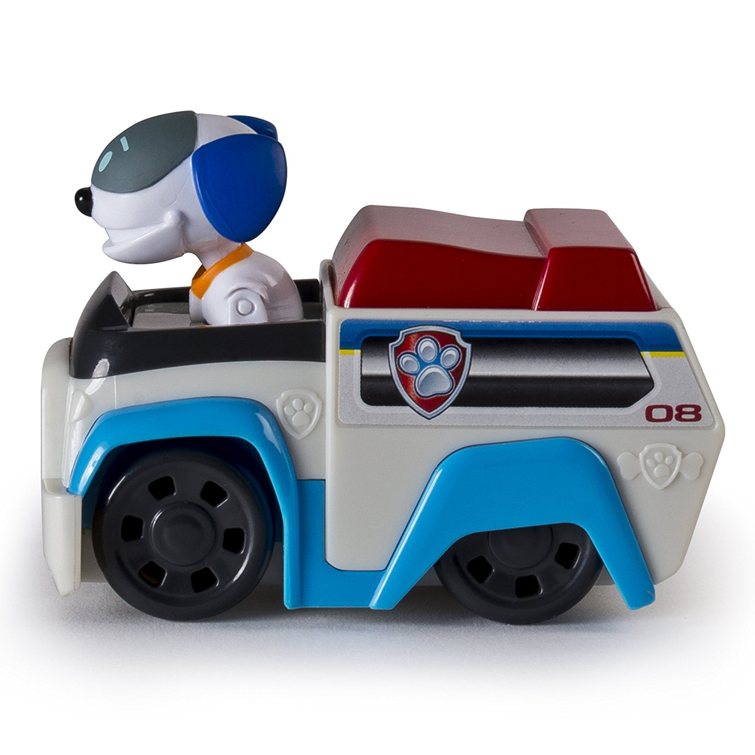 Robo Dog Patroller Racer Vehicle Robodog S Paw Patrol Racer Is Made For Speed With Real Working Wheels For Push And Play Action By Paw Patrol Walmart Com Walmart Com