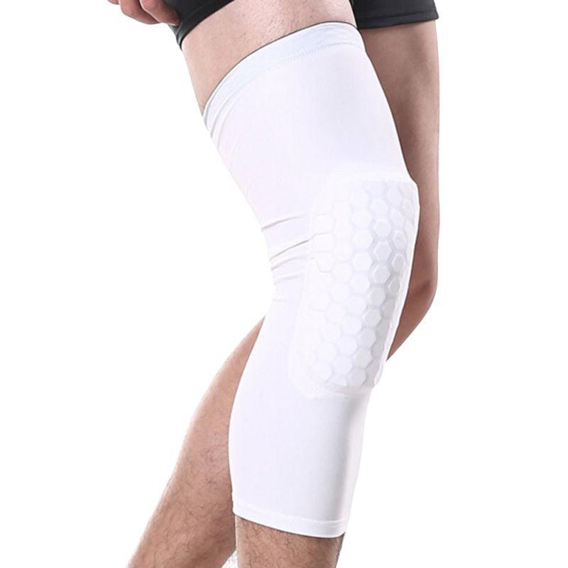 Tommyfit Breathable Basketball Honeycomb Leg Protector Knee Pad