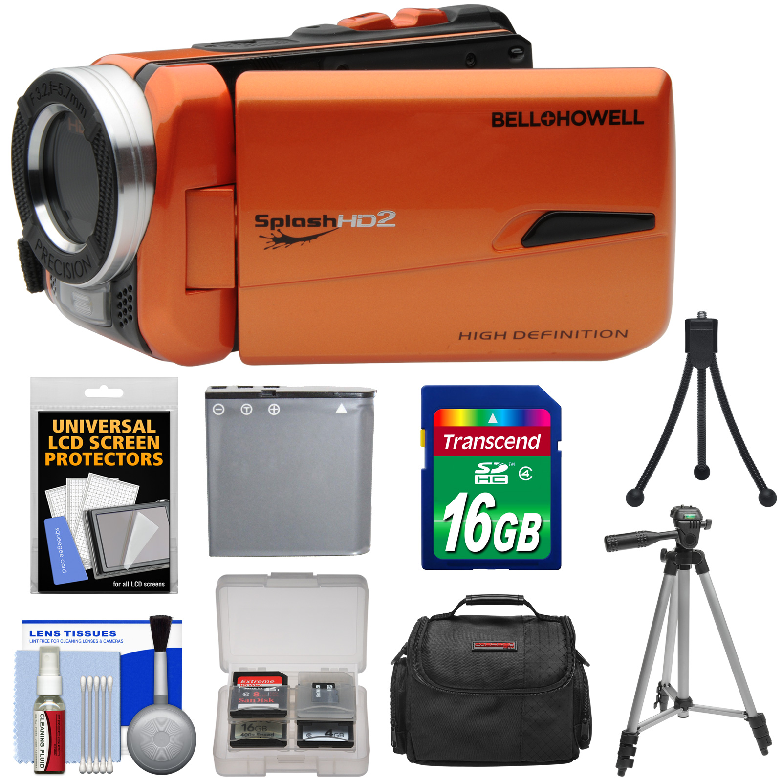 Bell & Howell Splash HD WV50 Waterproof Digital Video Cam...