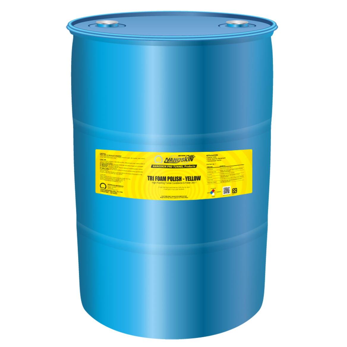 Nanoskin (NA-TFP7040-Y) TRI-FOAM POLISH - 240:1 - 55 Gallon (Yellow)
