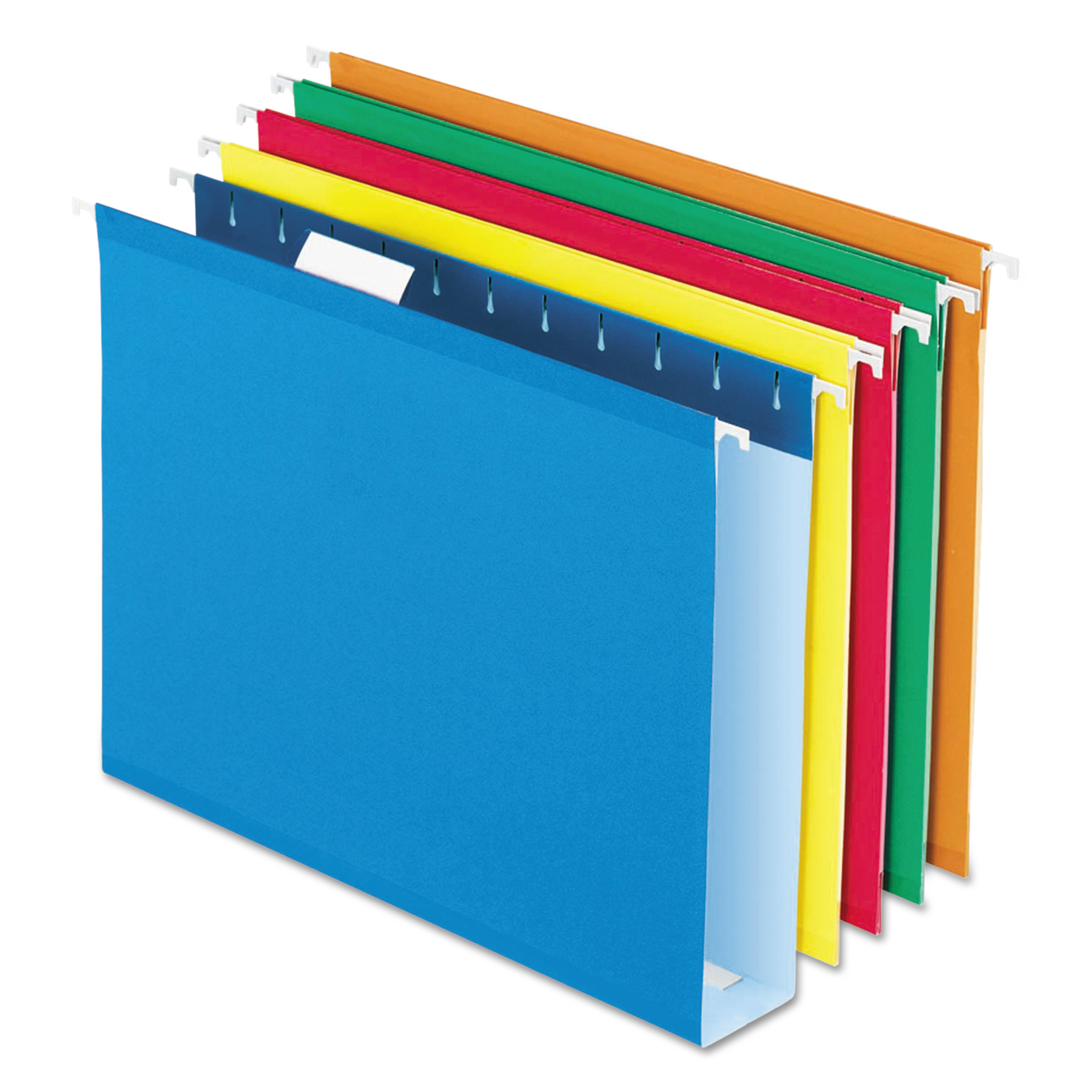 Pendaflex Box Bottom Colored Hanging Folders, Assorted, 25 / Box (Quantity)