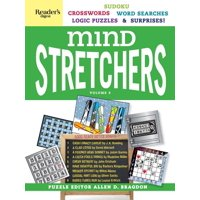 Reader's Digest Mind Stretchers Puzzle Book Vol. 3 : Number Puzzles, Crosswords, Word Searches, Logic Puzzles and Surprises