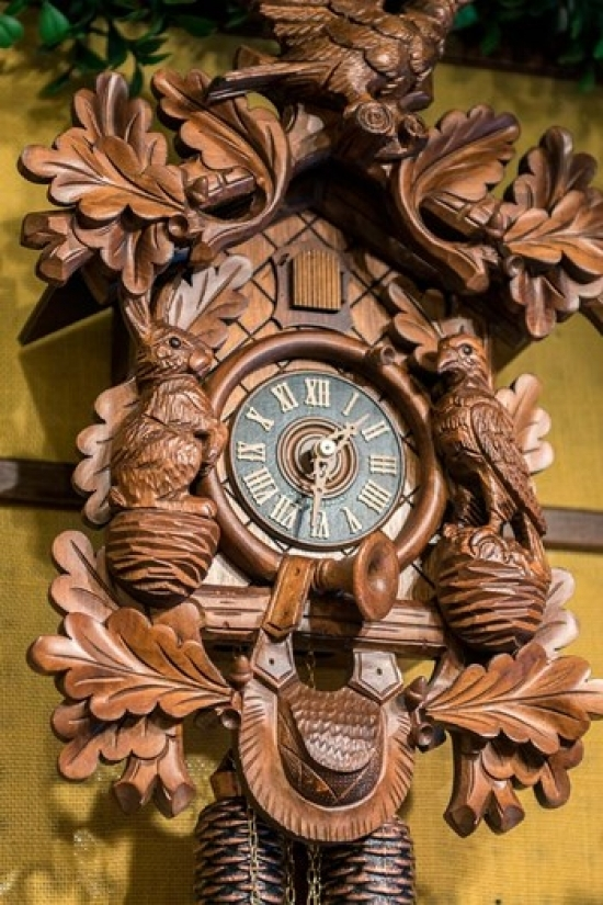 Cuckoo Clock Rothenburg Germany Poster Print by Jim Engelbrecht by Danita Delimont