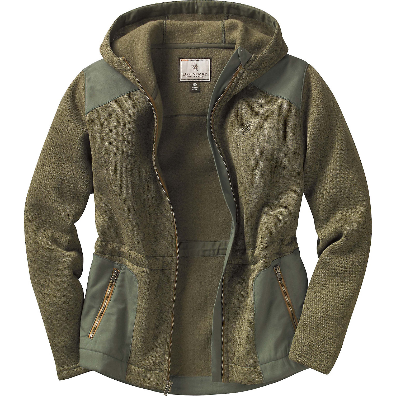 Legendary Whitetails Ladies Camp Fire Full Zip Sweater Fl...