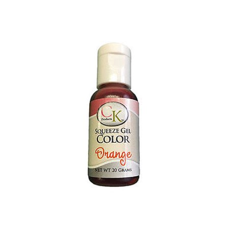 Orange Gel Food Coloring 20 grams - National Cake Supply