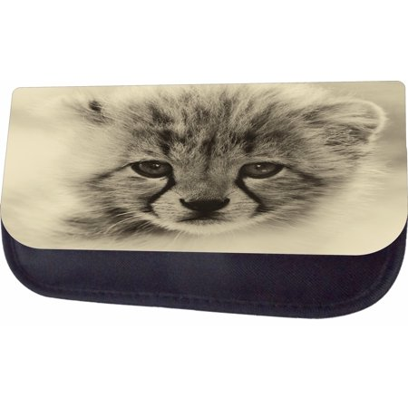 Cheetah Cub Jacks Outlet TM Nylon-Lined Cosmetic Case](Cheetah Makeup)