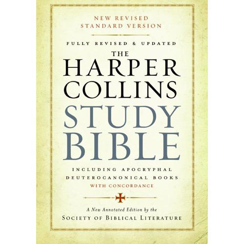 Holy Bible: The Harpercollins Study Bible, New Revised Standard Version: Including The Apocryphal/Deuterocanonical Books With Concordance