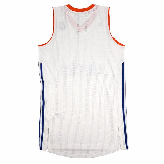 2df5c2219ad5 Westchester Knicks NBADL Adidas White NBA D-League Authentic On-Court Team  Issued Pro Cut Jersey Jersey For Men - Walmart.com