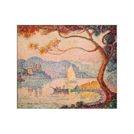 Antibes, Petit Port de Bacon, 1917 Print Wall Art By Paul Signac