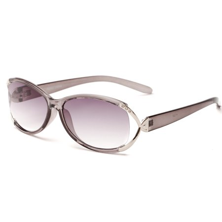 9ea9b5cee7d4 Readers.com The Claire Sun Reader Womens Oval Reading Sunglasses -  Walmart.com