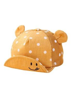 d65f6950996 Product Image Lavaport Dots Little Ear Hat Kids Cap Newborn Toddler Baby  Girl Boy Hats