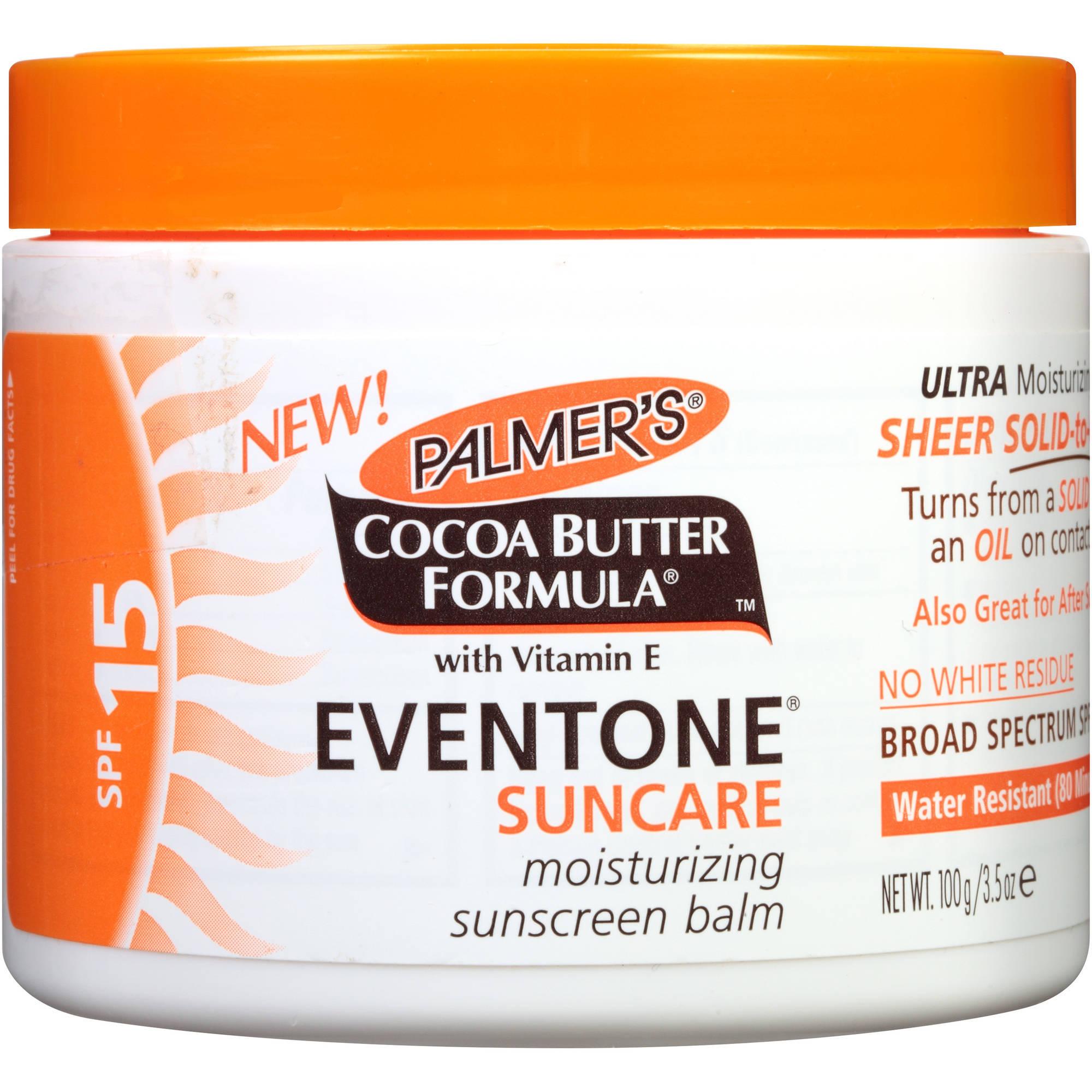 Palmer's Cocoa Butter Formula Eventone Suncare Moisturizing Sunscreen Balm, 3.5 oz
