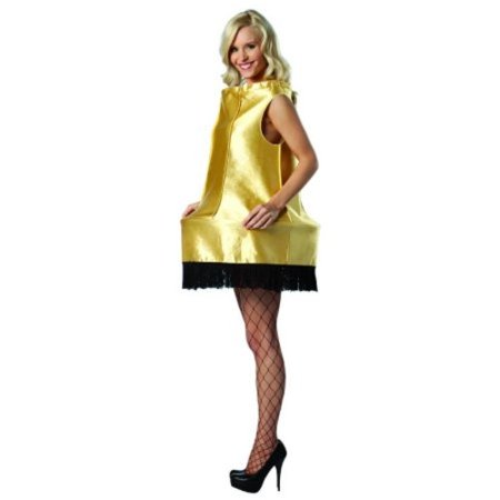 A Christmas Story Leg Lamp Adult Halloween Costume - Christmas Story Halloween Costume