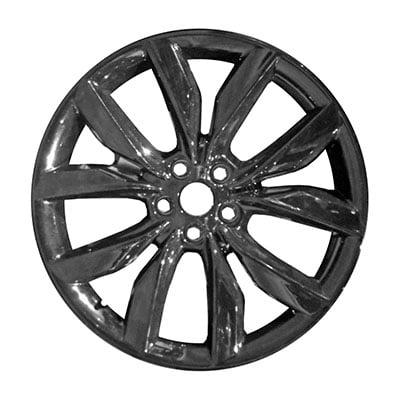 Wheel for 2017-2019 Ford Escape 19x8 BLACK Refinished 19 Inch Rim Ford Escape Rims