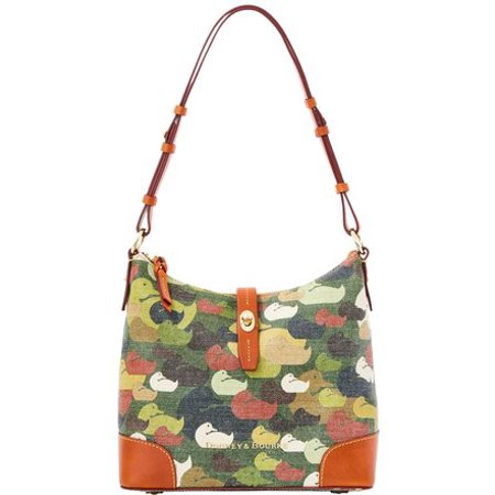 - Dooney& Bourke Robertson Camouflage Camo Duck Dynasty Hobo Bag