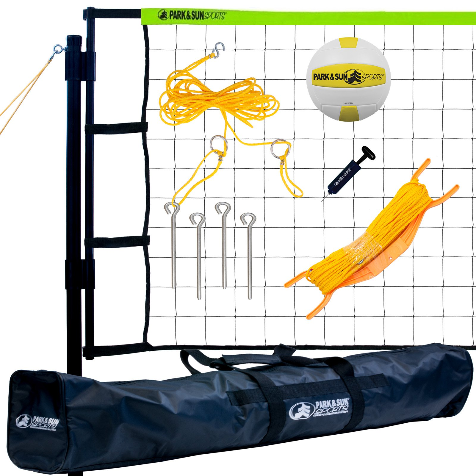 Park & Sun Tournament Flex Volleyball Net System