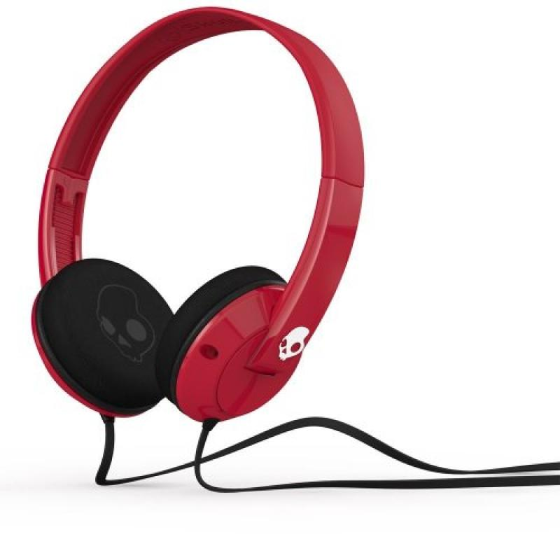 Skullcandy Uprock Headphones with Mic Red/White, One Size