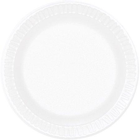 Concorde Non Laminated Foam Dinnerware - Dart Concorde Foam Plate, 6