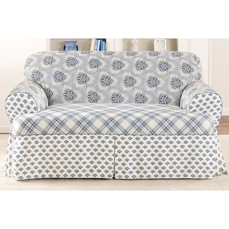 Sure Fit Amelie T Cushion Loveseat Cover