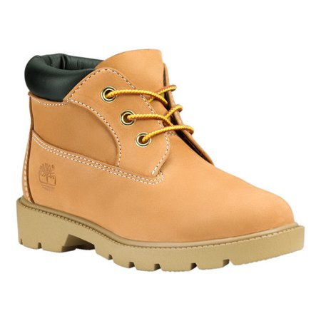 Timberland 3-Eye Chukka Waterproof Wheat Nubuck Junior Big Kids Boots