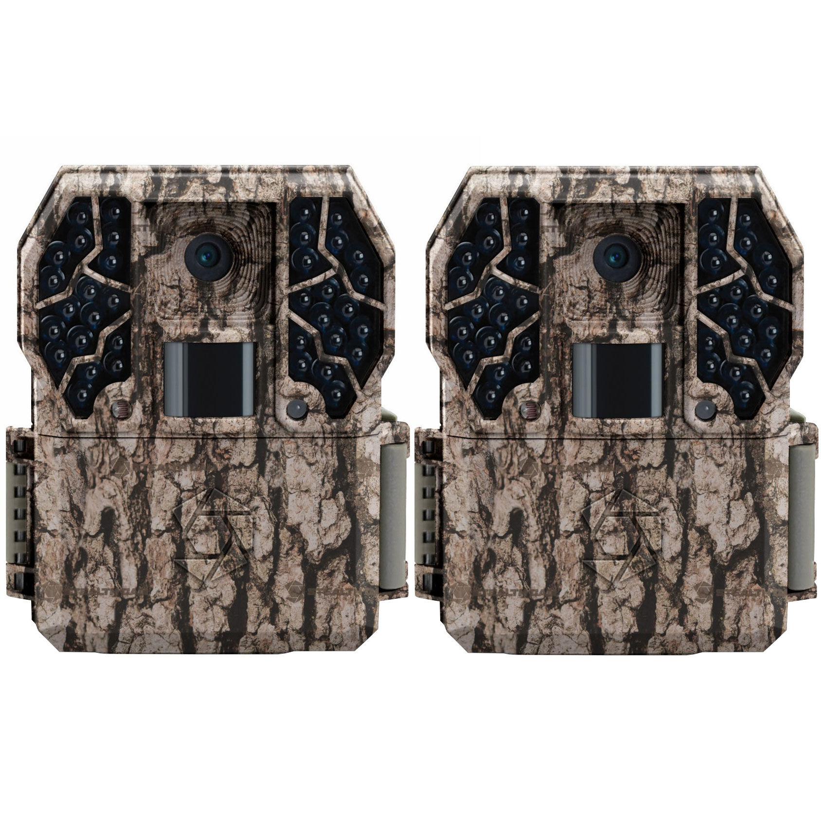 Stealth Cam Z36 No Glo 80' 10 MP 30 FPS Video IR LCD Trail Game Camera (2 Pack) by Stealth Cam