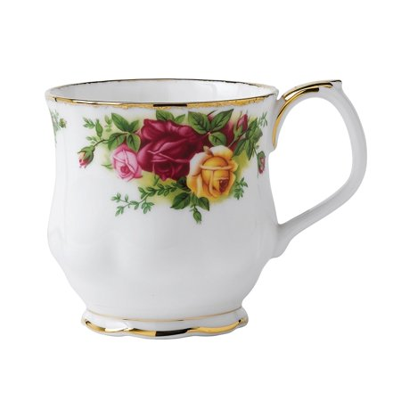 Royal Albert Old Country Roses Mug MUG MONTROSE, Fast shipping,Brand Safco Products Royal Rose Footed Cup