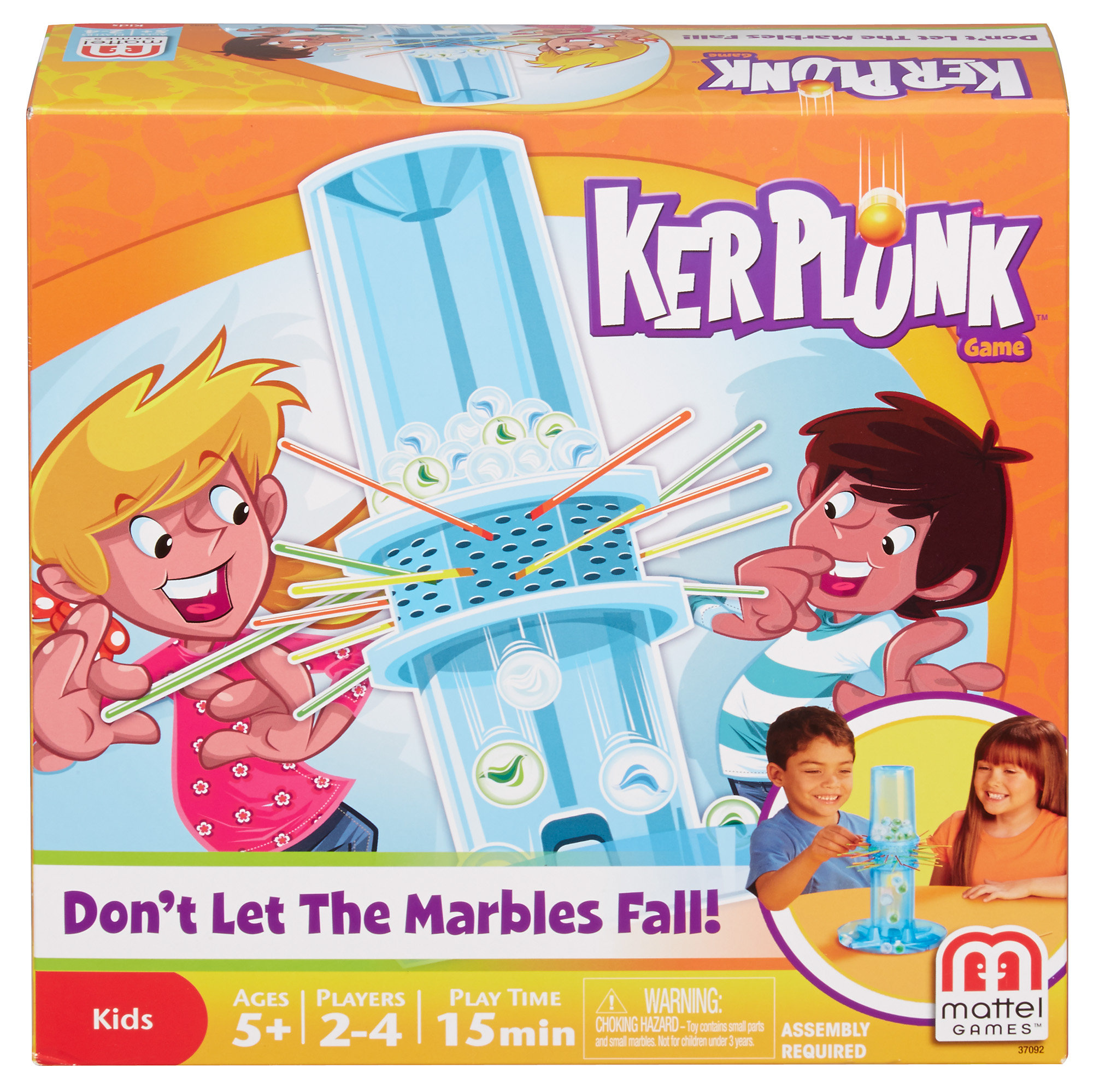 Ker Plunk! Game- Don't Let the Marbles Fall!
