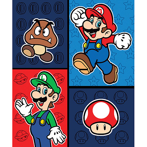 Super Mario Brothers Bring It On Throw