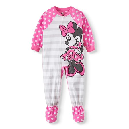 Minnie Mouse Ideas (Minnie Mouse Toddler Girl Microfleece Blanket Sleepers)