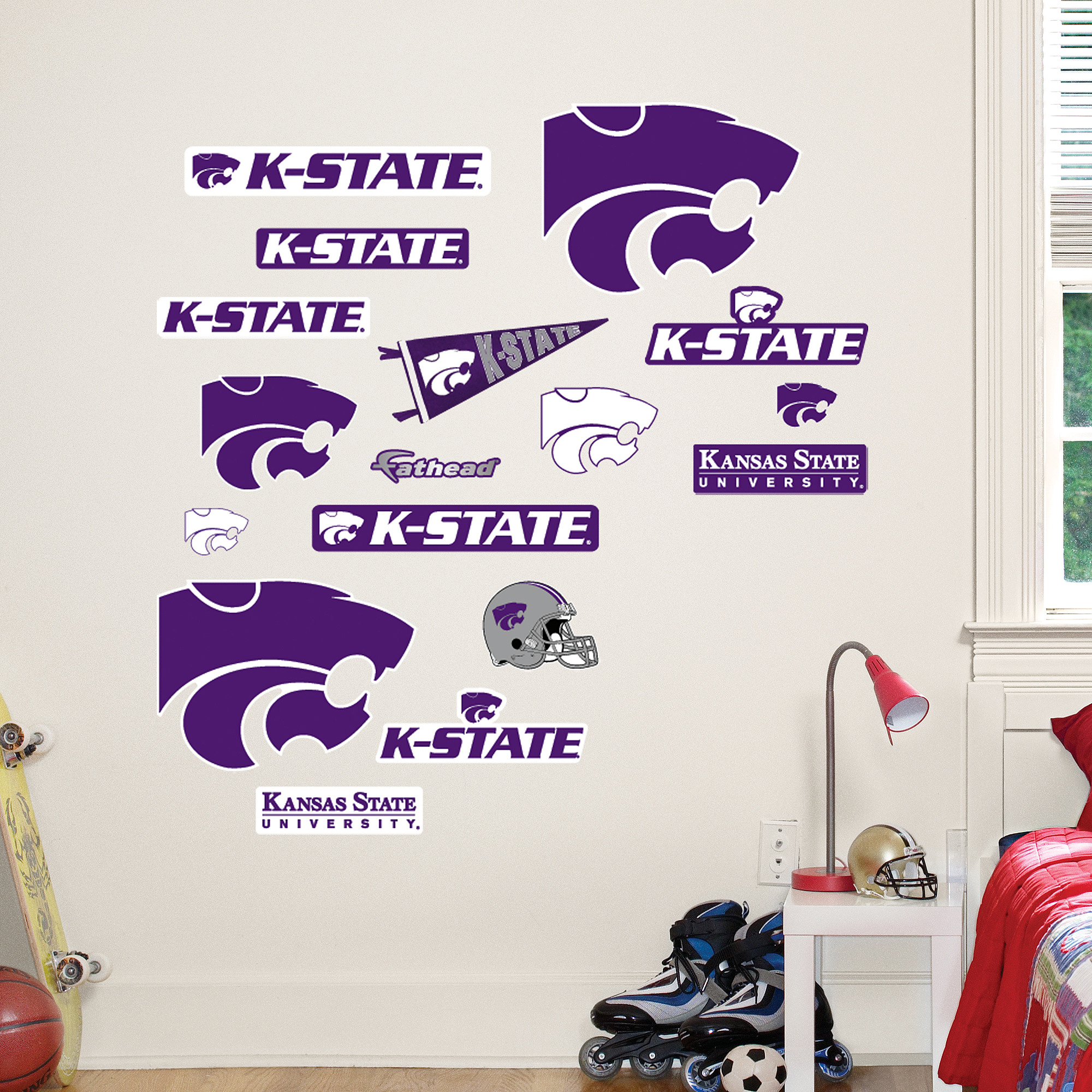 Kansas State Logo Sheet Jr.